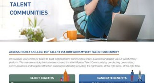 WorkMyWay Talent Community