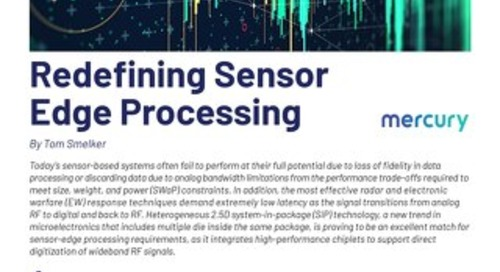 Article:  Redefining Sensor Edge Processing