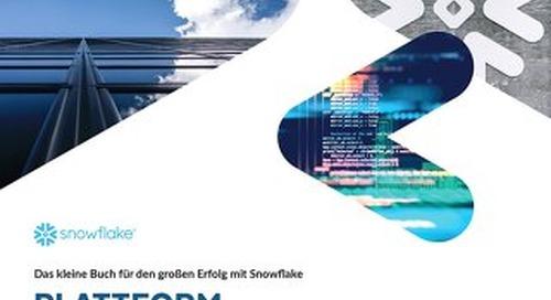 Das kleine Buch für den großen Erfolg mit Snowflake Plattform