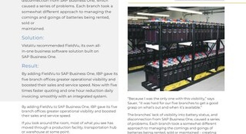 IBP   Outgrowing Small Business Software