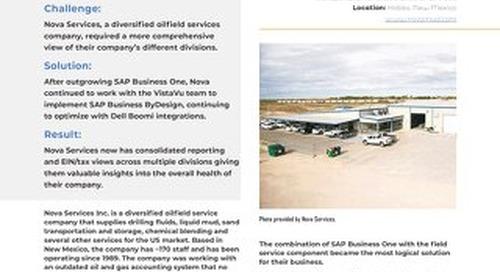 Nova Services | Deeper Insights & Greater Flexibility