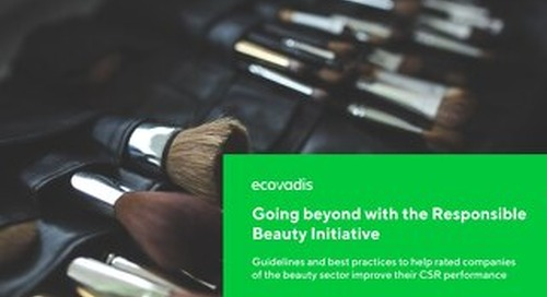 Going Beyond with the Responsible Beauty Initiative