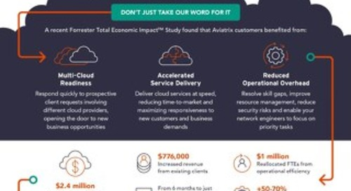 Forrester TEI Infographic