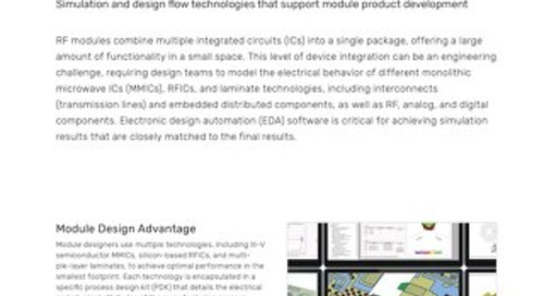 Module Design with AWR Software