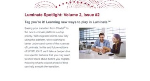 Luminate Spotlight Newsletter - February 2021