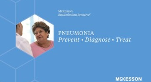 McKesson Readmissions Resource™: Pneumonia guide