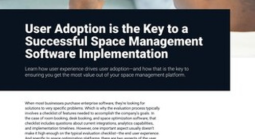 Why User Adoption is the Key to a Successful Space Management Software Implementation