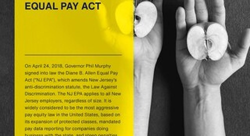 New Jersey Equal Pay Act