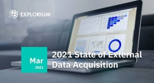 Explorium 2021State of External Data Acquisition