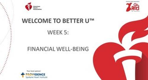 Better U_Week 5 PPT
