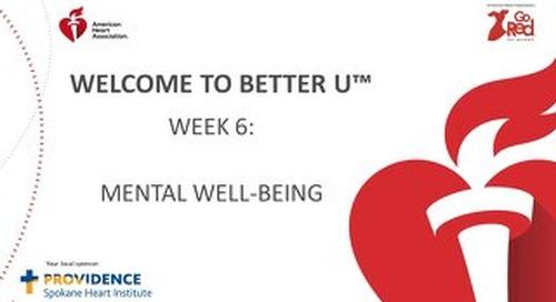 Better U_Week 6 PPT