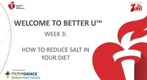 Better U_Week 3 PPT