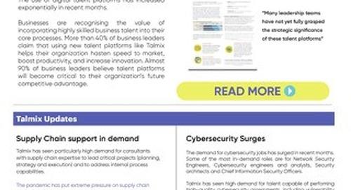 Talmix Newsletter (Apr 21)