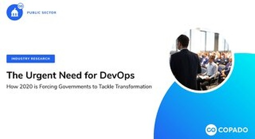 Public Sector: The Urgent Need for DevOps