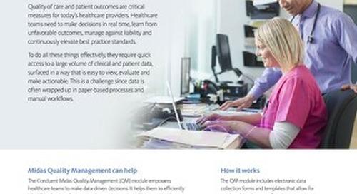 Midas Quality Management
