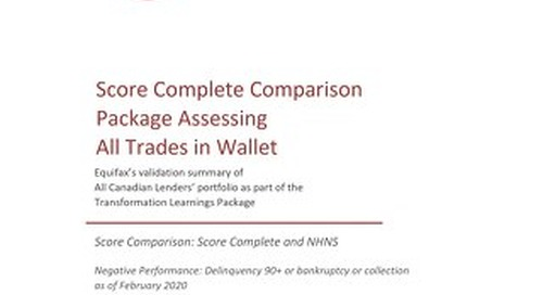 Equifax Odds Chart - NHNS vs Score Complete - CANADA ALL TRADES