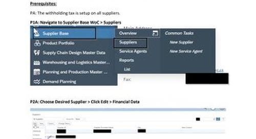 1099 NEC Form Guide & Tip Sheet | SAP Business ByDesign