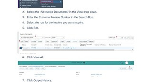 How To Re-Print an Invoice | SAP Business ByDesign