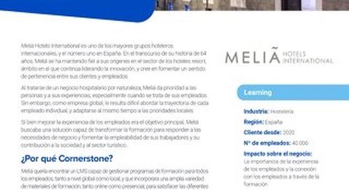 """Caso de éxito Melia: una experiencia de aprendizaje """"all inclusive'"""