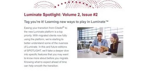 Luminate - Spotlight Newsletter - February 2021