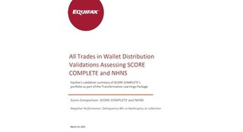Equifax Distributions Chart - NHNS vs SCORE COMPLETE - CANADA ALL TRADES