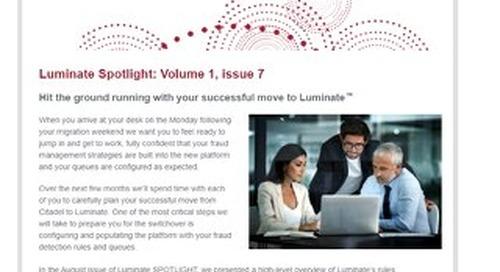 Spotlight Newsletter - October 2020