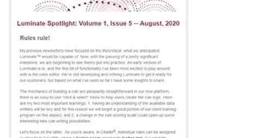 Luminate - Aug. 2020