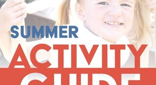 2021 Summer Activity Guide
