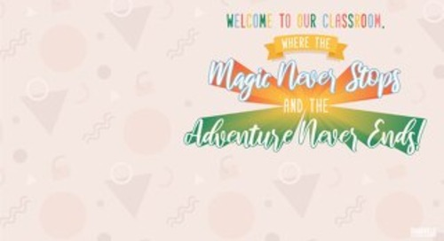 Free Download: Teacher Appreciation Week Virtual Background