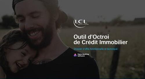 Outil d'Octroi de Crédit Immobilier : Dossier fonctionnel et technique