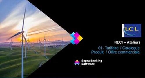 Notre Atelier Tarifaire / Catalogue Produit  / Offre commerciale