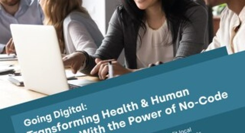 Going Digital: Health & Human Services