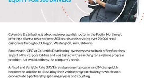 Columbia Distributing Trusts Motus Case Study