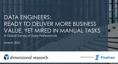 2021 State of Data Engineers Global Survey