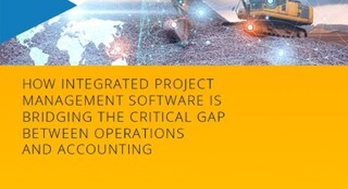 Connecting Construction Operations with ERP