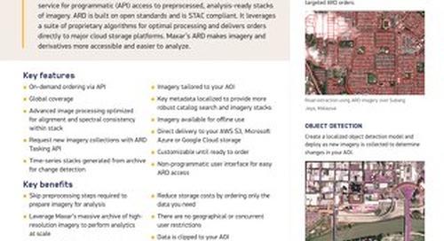 Analysis-Ready Data (ARD)