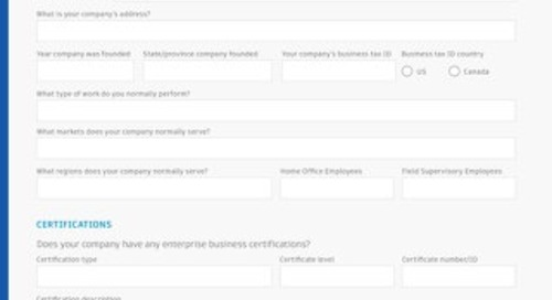 TradeTapp Qualification Form Template