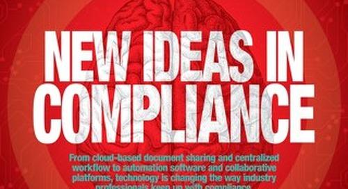 New Ideas in Compliance