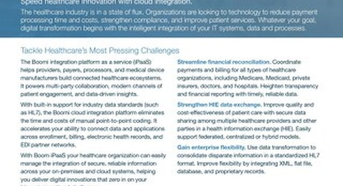 Boomi for Health Care | Industry Brief