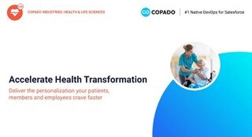Copado Health & Life Sciences Overview Deck