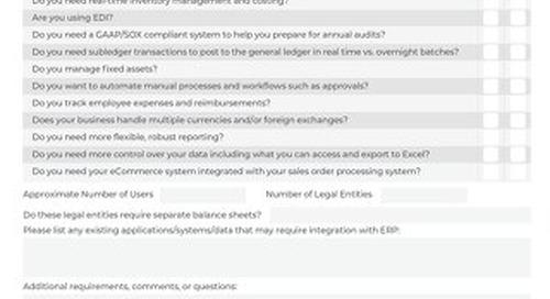 Migrating from QuickBooks: Checklist