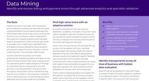 Payment Data Validation solution