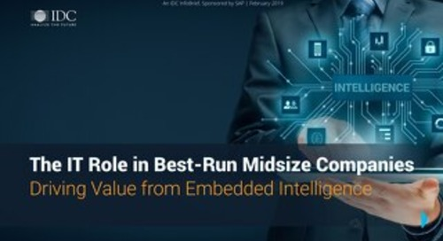 The IT Role in Best-Run Midsize Companies | IDC