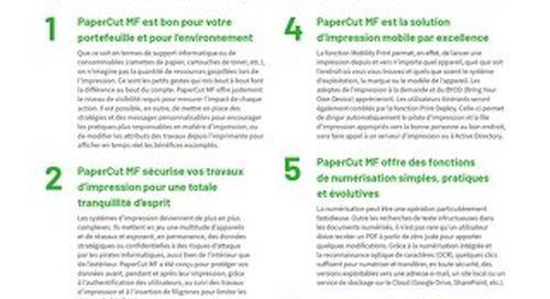 PaperCut MF Top10 Guide en Français