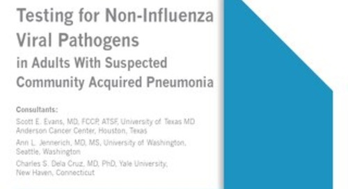 Nucleic Acid-Based Testing in Community Acquired Pneumonia