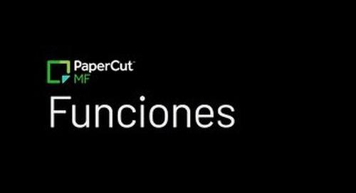 PaperCut Feature Sheets ESP