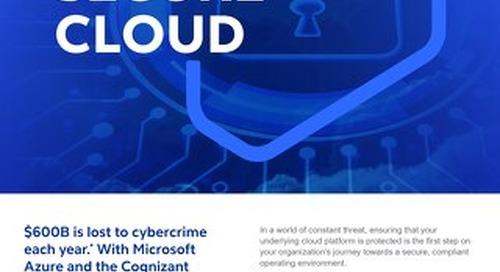 GO Secure Cloud 2021 - Flyer - Cognizant MBG