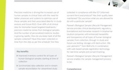 Accelerate Clinical Develop Fact Sheet