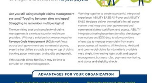 Claims Management, Connected