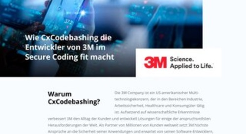 3M - CxCodebashing - German